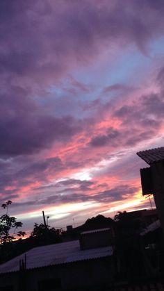 ภาพสวยๆ Tattoos And Body Art local tattoo parlors Pretty Sky, Beautiful Sky, Beautiful Places, Sky Aesthetic, Purple Aesthetic, Lilac Sky, Pink Purple, Look At The Sky, Sunset Sky