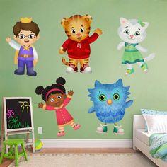 Daniel Tiger's Neighborhood Characters Decal Removable Wall Sticker Decor Art