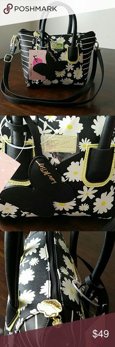 🚨LAST CHANCE SALE🚨🆕NWT- BETSEY JOHNSON0 PURSE 🚨PURSE WILL BE COMING DOWN LAST CHANCE TO ORDER🚨  🆕NWT- BETSEY JOHNSON FLORAL DESIGN PURSE SUCH A CUTE DESIGN PLENTY OF ROOM AND COMES WITH HANDLES OR A STRAP. LOTS OF DETAILS ON THIS GEM JUST A AWESOME PURSE U WILL LOVE  🌹NWT-BRAND NEW WITH TAGS - NEVER USED 🌹100% AUTHENTIC 🌹SAME DAY SHIPPING 🌹NO TRADES  🚫PLEASE READ MY CLOSET RULES AND FOLLOW PLEASE NO RUDE COMMENTS LETS ALL BE RESPECTFUL TOWARDS ONE ANOTHER 😊…