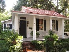 Ca 1850 - 311 Laurens St., Beaufort, SC historic cottage built in 1850 believed to be the first one-room school in Beaufort in the Old Point historic district. 1,357sq.ft./2BR's/2 baths $423,000  LOL
