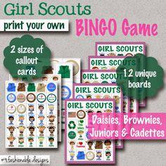 Girl Scouts BINGO Game