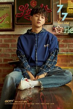 Jaebeom  | 7 for 7 | GOT7 Oct 2017 comeback | our handsome leader! | [source : GOT7Official twitter]