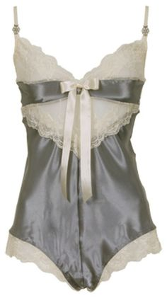 Sally Jones 'Charlotte' silk French garment