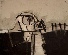 """""""Pintura_105"""" Oil+Mixed 41x33cm. / Bernardo Guerra"""