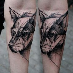 #wolf#wilk#sketch#realsketch#tattrx#supportgoodtattooing#blackworkerssubmission#ink#black#czerń#