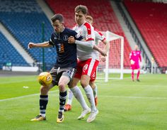 Queen's Park's David Galt in action during the SPFL League One game between Queen's Park and Raith Rovers.