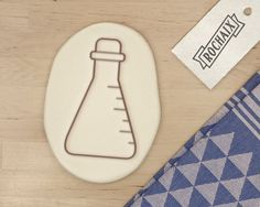 Science Lab Equipment Cookie Cutter Science Cookie by RochaixCo