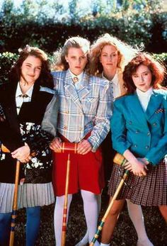 """Heathers"".  The movie that made Corn Nuts famous!  ""I love my dead gay son!""  And it all takes place in OHIO! ;)"
