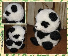 Pom Pom Crafts, Yarn Crafts, Diy Arts And Crafts, Cute Crafts, Diy For Kids, Crafts For Kids, Teddy Bear Crafts, Pom Pom Animals, Wool Dolls