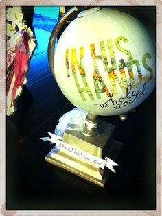another great globe idea from the uber creative heidi!