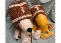 Photo Prop Football Hat, Football Toboggan, Photo Prop for Babies, Infant Toboggan, Sports Hat, Crochet Football Toboggan, Sports Photo Prop by irisbearyspecial on Etsy