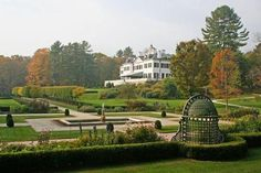 The Mount, home of Edith Wharton in Lenox. Ghost tour!