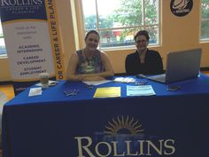 Fellow Staff Members at the Study Abroad Fair