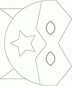 molde mascaras vingadores - Pesquisa Google