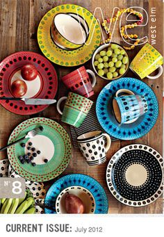 July 2012 West Elm Catalog