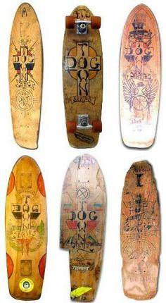 Vintage bruce lee skateboard