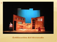 Pieza de decorado en teatro