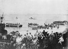 1915 ÇANAKKALE İÇİNDE AVUSTRALYA KUVVETLER