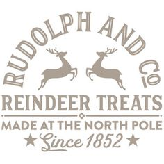 Silhouette Design Store: Rudolph And Co Christmas Vinyl, Christmas Shirts, Christmas Projects, Winter Christmas, All Things Christmas, Holiday Crafts, Christmas Holidays, Christmas Decorations, Christmas Design
