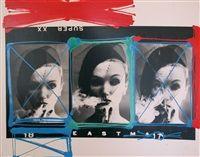 Smoke Veil x 3, Paris Vogue, 1958 by William Klein