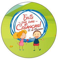 Rótulo para Tubetes Dia das Crianças Lembrancinha Emoji, Children, Kids, Family Guy, Bible, Printables, Education, Blog, Fictional Characters