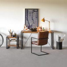 Je veux un bureau vintage - Home Office Manchester, Vintage Home Offices, Spanish Style Homes, At Home Gym, Home Office Design, Repurposed Furniture, Interior Design Inspiration, Home Renovation, Diy Home Decor