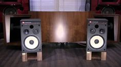JBL 4312E 3Way Control Monitor Speakers