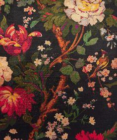 Liberty Art Fabrics Lady Kristina in Film Noir Vintage Velvet Cushion   Home   Liberty.co.uk