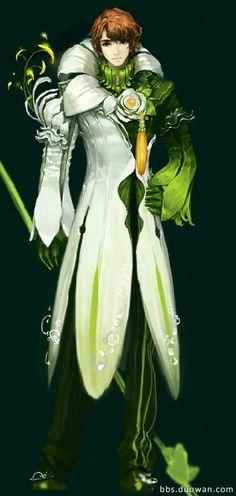 Aion 3.5 Innocent Aris Concept Art (Pure lilies)