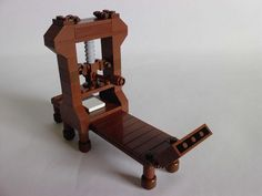 Printing press by Angelo _S Lego Village, Be Right Back, Printing Press, Legos, Letterpress, Wine Rack, It Cast, Sculpture, Prints