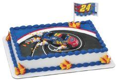 nascar birthday cakes race car for kids,custom race track cake