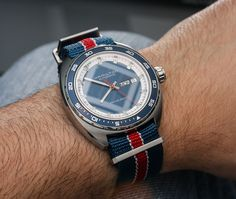 Hamilton Pan Europ Watch On NATO Hands On hands on