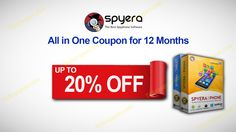 Enjoy 20% OFF SPYERA All in One Coupon for 12 Months http://tickcoupon.com/stores/spyera-coupon-codes