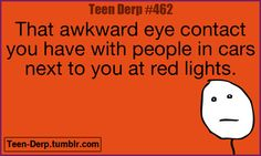 Not awkward! I initiate it and it's funny as hell!