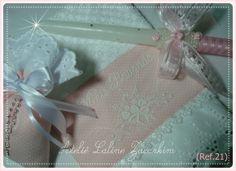 Kit. Para Batizado. Bordada com Linha de algodão  no tecido poá rosa bebê aplicado  bordado inglês 100% algodão e detalhas com guipir.... Kit.Para Batizado.(Rfe..21) 1-Toalha para batizado. 1-vela decorada. 1-Sachê. com aroma cheirinho Bebê.