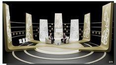 Nihat Hatipoğlu - Ramazan Sohbetleri TV Set Tasarımı - Dekor Tasarımı Ahmet Rüstem Ekici