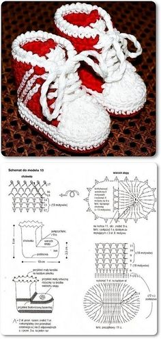 Handmade baby booties for baby gifts are easier than you think. You can create a nice one with a crochet hook and some yarn! If you love crocheting, here is a p Crochet Chart, Diy Crochet, Crochet Patterns, Crochet Baby Boots, Crochet Slippers, Crochet Baby Blanket Beginner, Baby Knitting, Baby Booties, Baby Shoes