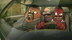 "Official animated music video ""Yini Bo"" feat. Cape Town Effects. D-Planet Remix Taken from the Mini LP ""Secret Stachella"" - 2015  3 moustache…"