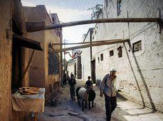 Kashgar old town - time stands till - Kashi, Xinjiang, China