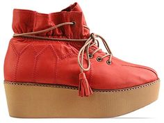 pretty nice 21d36 1b38c Carin Wester Pachai in Red at Solestruck.com