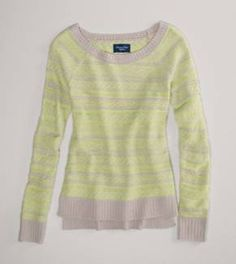 AE Reverse Fair Isle Sweater