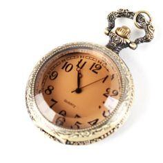 Yesurprise Antique Case Bronze Tone Owl Quartz Pocket Chain Pendant Watch Necklace 4.2CM Yesurprise. $8.12