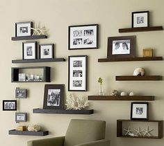 Picture Perfect Ledges. Picture ledges are an elegant way to display your photos and other decors.