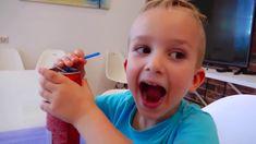 أطفال مضحك اونبواكسينغ شيكولاته الحلوى العملاقة جوني يغرق في الشبكولاته العملاقه واغاني جوني جوني Marketing