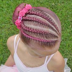 Baby Hairstyles Ideas – Baby and Toddler Clothing and Accesories Box Braids Hairstyles, Pretty Hairstyles, Gymnastics Hair, Girl Hair Dos, Natural Hair Styles, Long Hair Styles, Braids For Black Hair, Girls Braids, Toddler Hair