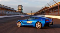 It's official: the 2014 Chevrolet Corvette is the Indianapolis 500 Pace Car. Chevrolet now has an even dozen Indy Edition 'Vettes to brag about. - Road & Track