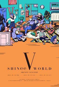 160819 SHINee World V by bridge_ship_house / andyrementer #Shinee #Taemin #Minho