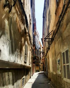 Streets of Palma de Mallorca.