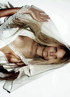 Magdalena Frackowiak by Maciek Kobielski, Muse #24 Fall/ Winter 2010