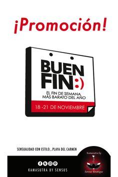 Ya llegó desde hoy 16 de noviembre el #BuenFin a nuestra boutique =)  #RivieraMaya #PlayaDelCarmen #Promociones #Ofertas #Atrevete #Sensualidadconestilo